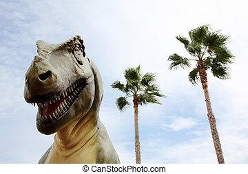 tyrannosaurus,  Rex, Dinosaurio