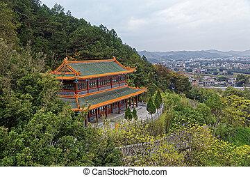 Meizhou - Temple , Chinese architecture in Meizhou