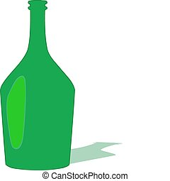 Vector illustration a  bottle