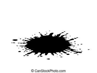 Vector illustration  blots
