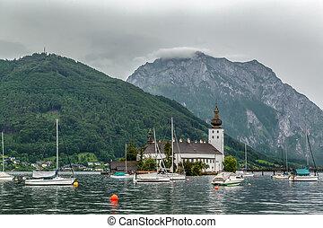 Schloss Ort, Gmundan,Austria - Schloss Ort is an Austrian...