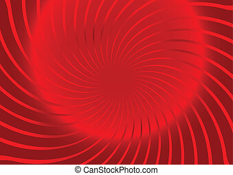 Vector illustration a red  background