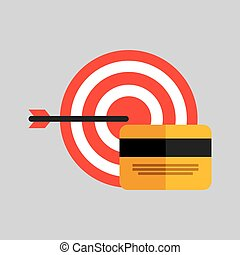 business strategy technology credit card money vector...