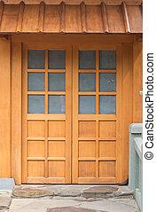 door in japanese style