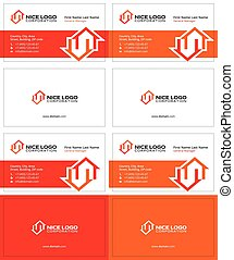 two houses business card 1