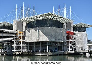 The Lisbon Oceanarium in Portugal