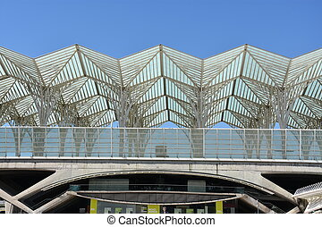 Lisbon Oriente Station in Portugal