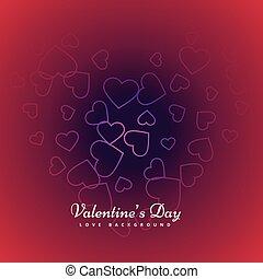 valentines day background design