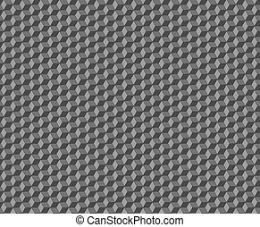 Cubes abstract seamless pattern.