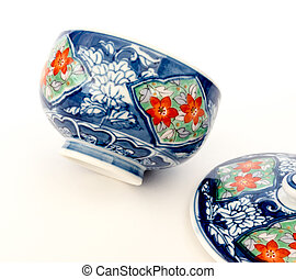 Japanese porcelain. - GOMEL, BELARUS - FEBRUARY 18, 2016:...