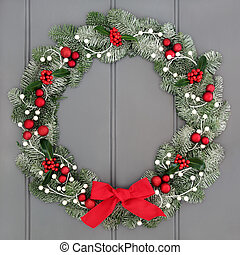 Christmas and Advent Wreath - Christmas and advent wreath...