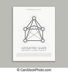 mystical geometric shape