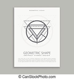 geometric lineart shapes