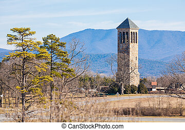 Luray Singing Tower, Virginia, USA - Belle Brown Northcott...
