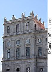 Palace of Ajuda in Lisbon, Portugal
