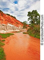 Fairy stream - Canyon of the Fairy stream in Muine Vietnam