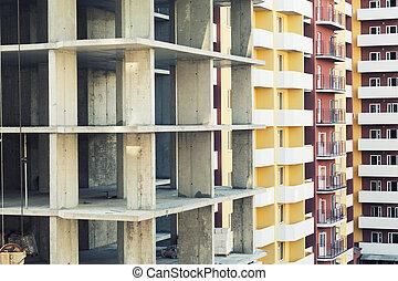 multistory building construction .