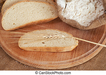 bread & weat - Composition of bread & weat