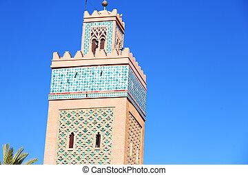 history maroc africa minaret palm - in maroc africa minaret...
