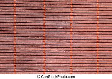 wicker carpet - A nice wicker carpet as background