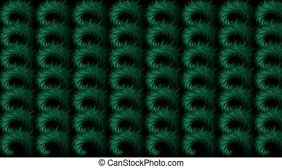 abstratct rotation green pattern