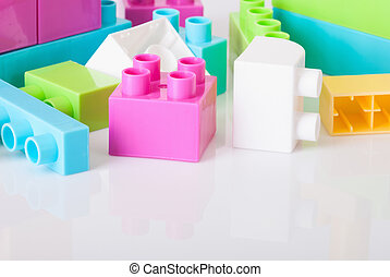 toy blocks - Photos  of toy blocks on white