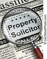 Property Solicitor Join Our Team. 3D. - Property Solicitor....