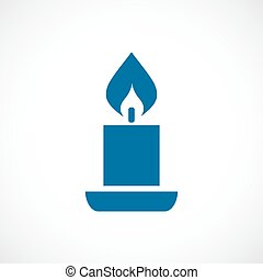 Candle icon - Candle vector icon