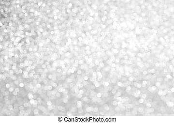 Glittery lights background - Glittery shiny lights silver...