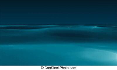 Animation of ocean waves - Looping animation of ocean waves