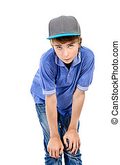 twelve years old lad - Portrait of a smiling teenage boy....
