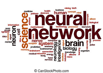 Neural network word cloud concept