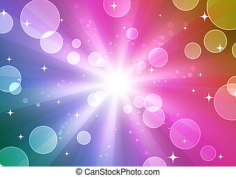 abstract party Background - illustration of color abstract...