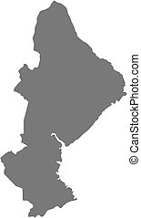 Map - Sofala (Mozambique) - Map of Sofala, a province of...