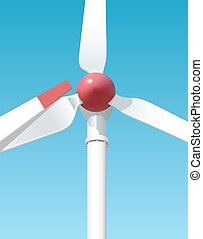 Wind-powered generation serves to the people - Wind-powered...