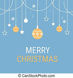 Merry Christmas Happy New Year Celebration Holiday Banner...