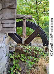 historic mill wheel region of Lower Austria, Austria