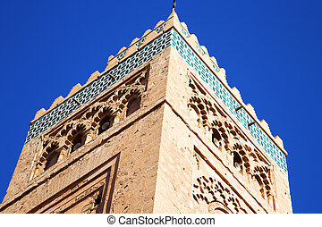 histor maroc africa sky - in maroc africa minaret and the...