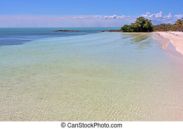 isla contoy sand froath and day wave - blue isla contoy in...