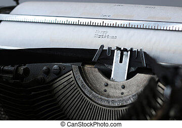 retro old typewriter - Instruments employee news agency the...