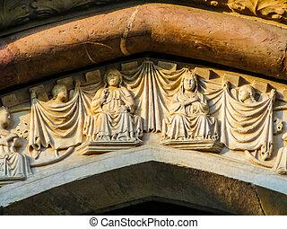 HDR Santa Maria della Salute church in Viterbo - High...