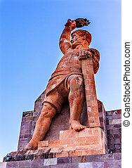 El Pipila Statue Guanajuato Mexico