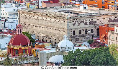 Templo Belen Allende Window Alhondiga de Granaditas...