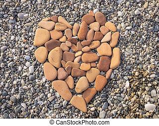 Coração, pedra, FORMA