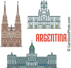 Famous churches and palaces of Argentina - Basilica of Our...
