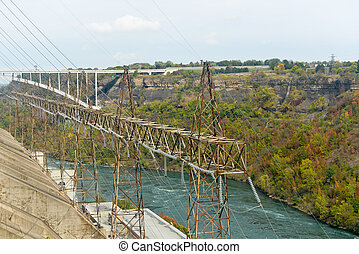 Sir Adam Beck Hydroelectric - View of the Sir Adam Beck...