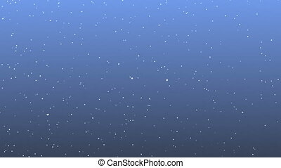 snow patrticle loop abstract background