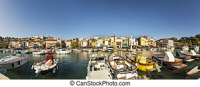 Cassis, french town situated on the Mediterranean coast