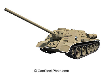 Self-propelled gun SU-100 year: 1944; 316 t, 100 mm gun