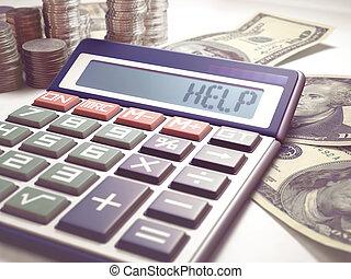 Help Calculation Business Finance - Solar calculator amid...